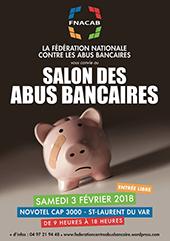 Finance salon des abus bancaires le 3 f vrier au novotel for Home salon saint laurent du var